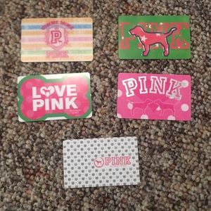 Victoria's Secret Pink collectible cards 🖤